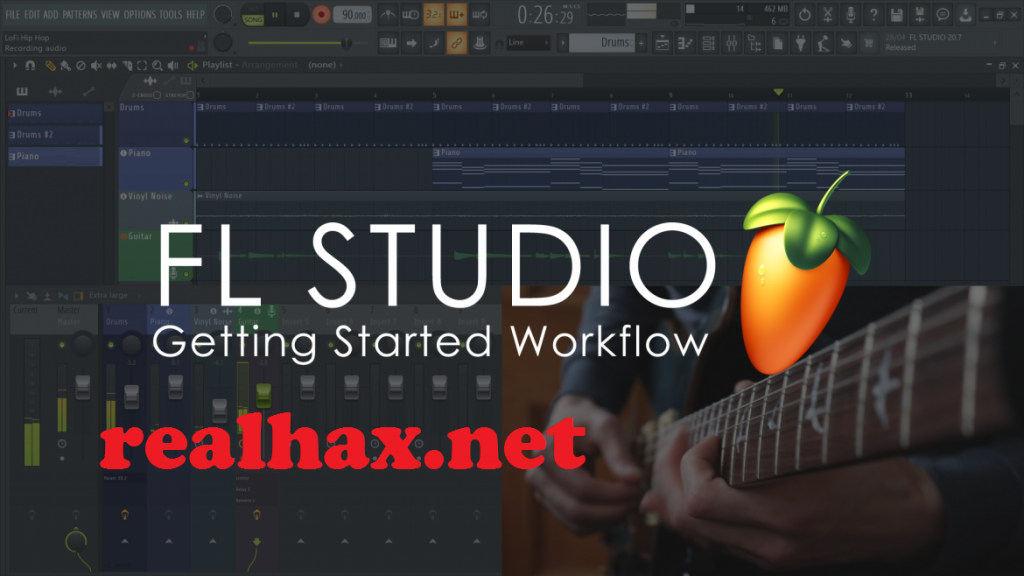 FL Studio 20.8.2 Crack + Registration Key Free Download 2021
